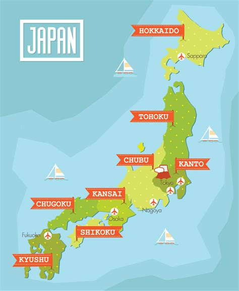 maps of map of japan guide of the world