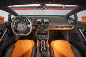 Lamborghini Interiors 2015 Lamborghini Huracan Lp 610 4 Drive Motor Trend