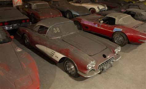 Vh1 Corvette Giveaway - peter max corvette collection exhumed from parking garage purgatory news car