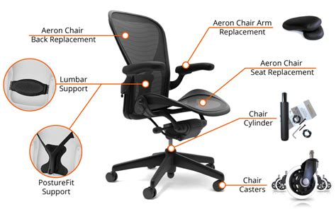 Desk Chair Repair Parts by The Best Aeron Chair Parts To Revive Your Herman Miller