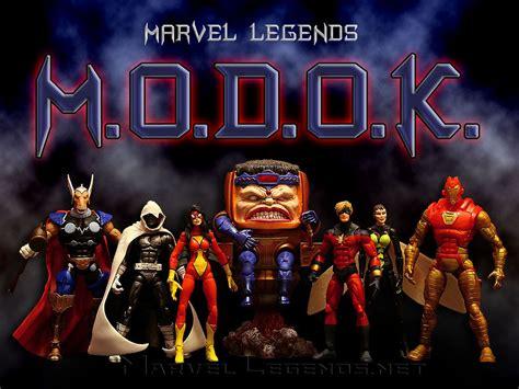 Legend Series marvellegends net marvel legends modok series