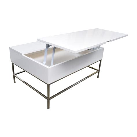 west elm coffee storage coffee table west elm buy west elm industrial