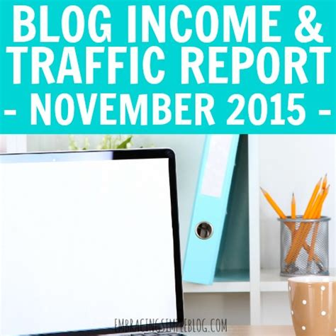 november 2015 income and traffic report embracing