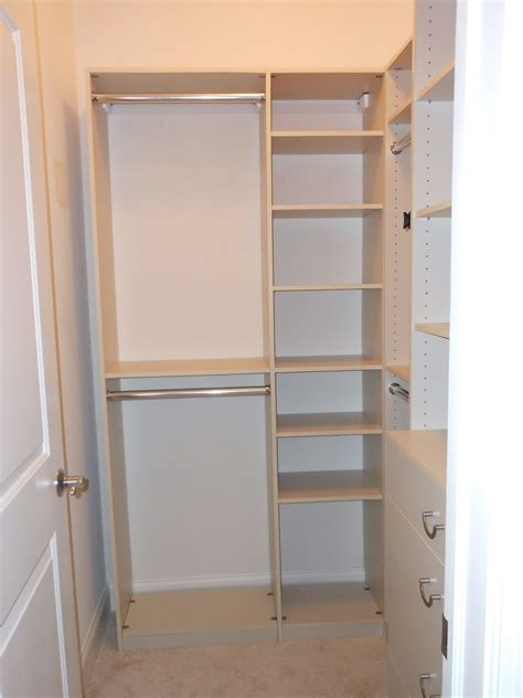 small closet shelving ideas simple small walk in closet designs home design ideas