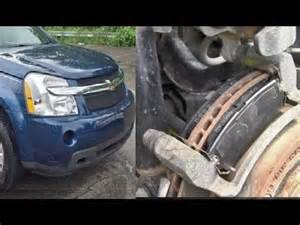 Steering Wheel Shakes After New Brake Pads 2007 Pontiac Torrent Front Brake Pads And Rotors Brake