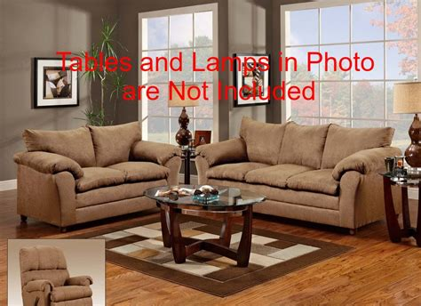 complete living room packages 7pc complete living room package deal