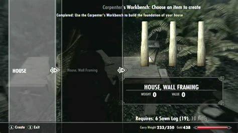 falkreath house skyrim hearthfire house tutorial falkreath hd youtube