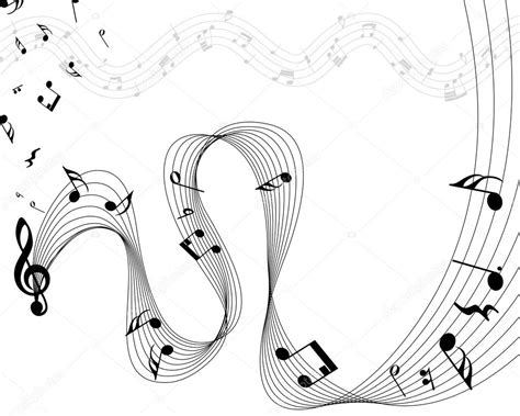 clipart note musicali pentagramma note musicali vettoriali stock 169 angelp