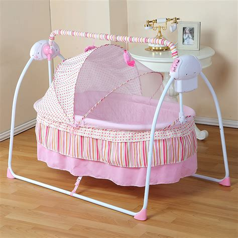 Aliexpress Com Buy Fashion Electric Baby Crib Baby How Big Is A Baby Crib