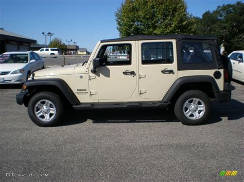 tan jeep sahara tan 2012 jeep wrangler unlimited sport 4x4 exterior