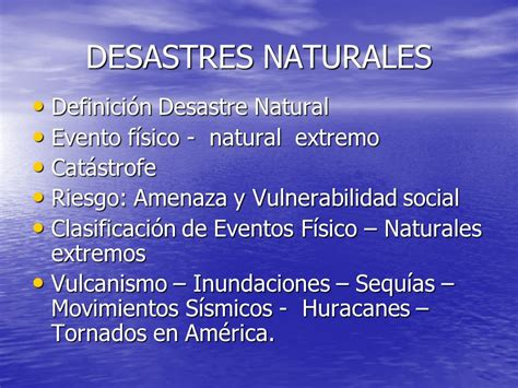 amenazas naturales y socio naturales ppt descargar desastres naturales en am 201 rica ppt video online descargar