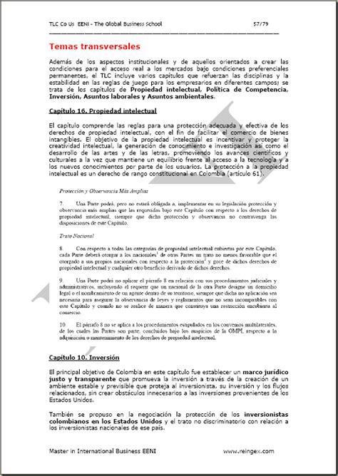 tlc colombia estados unidos y su incidencia en el sector estados unidos mayor econom 237 a del mundo
