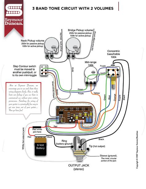 seymour duncan jazz bass wiring diagram wiring