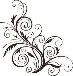 simple flower border designs to draw clipart best