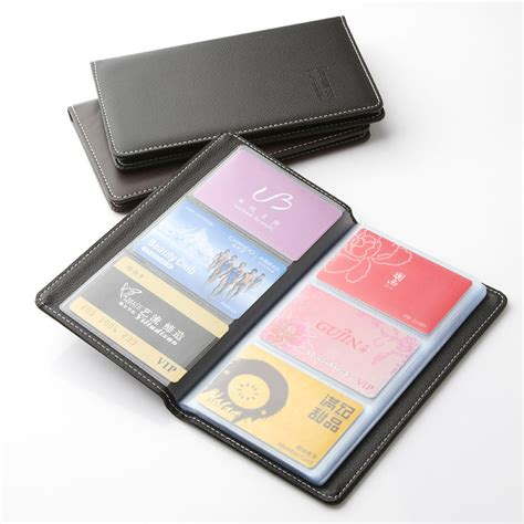 Name Card Holder Istana deli large capacity senior pu name card holder card package business card holder card book in