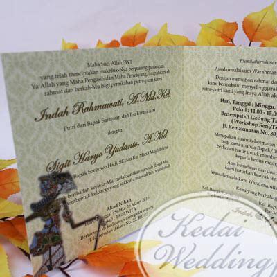 Undangan Pernikahan Gunungan Wayang undangan pernikahan gunungan wayang murah undangan pernikahan