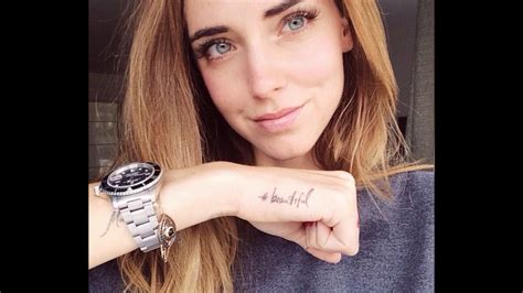 chiara ferragni tattoos chiara ferragni tattoos and its meanings