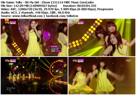 download mp3 closer oh my girl download perf oh my girl closer mbc music core 151114