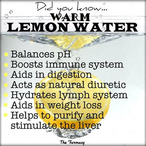 Lemon Water Daily Detox by The Health Page Amazing Benefits To Warm