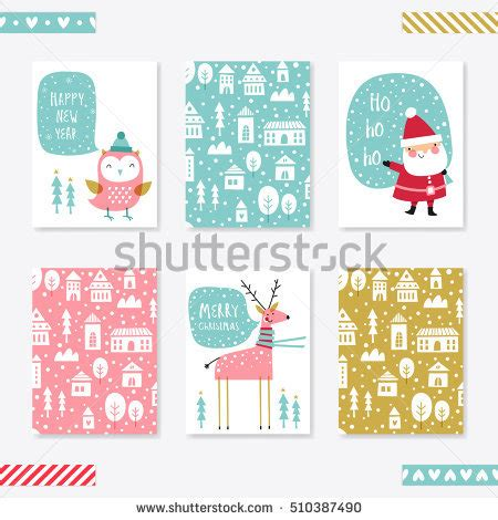how to set up a greeting card template greeting card you forever creative stock vector