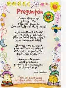 Poemas infantiles para ninos newhairstylesformen2014 com