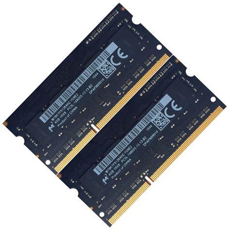 Jual Sodimm Ddr3 2x4gb by Micron 8gb 2x4gb Ddr3 1866mhz Pc3 14900 Non Ecc 204 Laptop