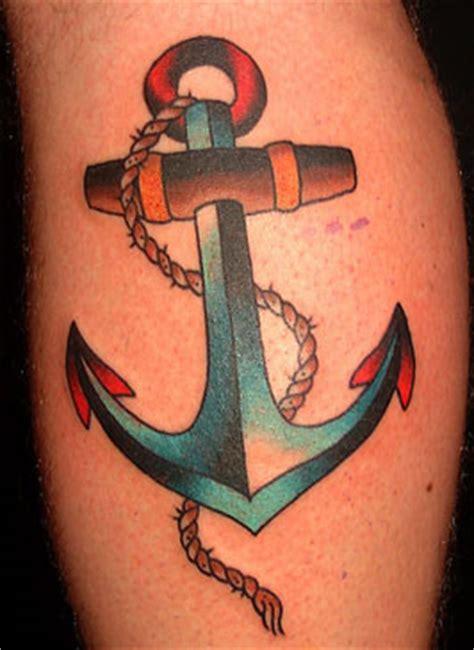 Tattoo Old School Ancora | tatuaggi