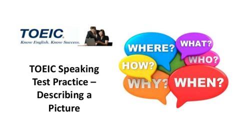 Top One Toeic Preparation toeic speaking practice speculation phrases