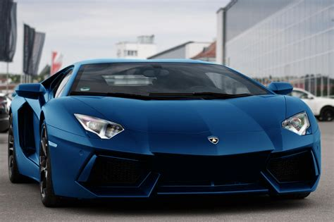 Navy Blue Lamborghini Matte Blue Lambo Vroom