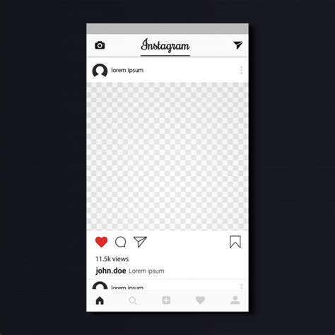 Instagram Template Design Vector Premium Download Free Instagram Template