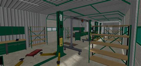 SHOP FEU VERT Object V1   Farming Simulator 2015 / 15 mod
