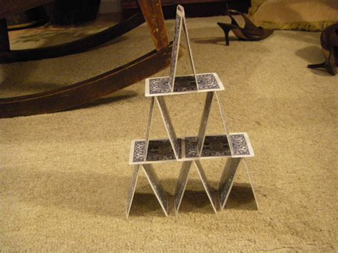 How To Make A Tower With One Of Paper - day 48 build a tower out of cards or attempt to 181 days