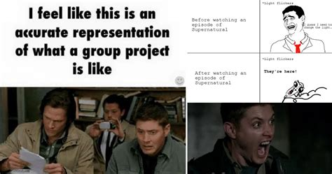 Funny Supernatural Memes - 15 supernatural memes that will make any fan rotf with laughter