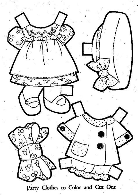 1000 images about paper doll clothes on pinterest a