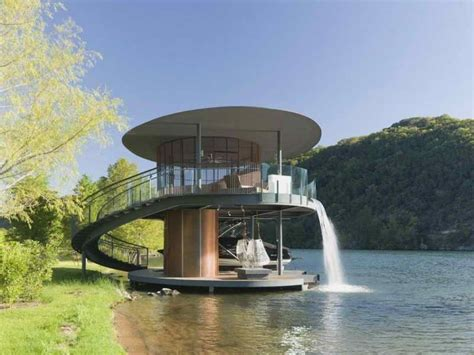 house with waterfall architecture waterfall architecture house mir rendering really cool photos
