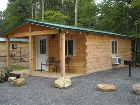 pre assembled trail cabins at the summersville wv