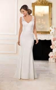wedding dresses casual lace wedding dress stella york