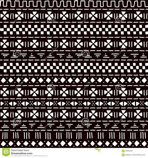 africa vector traditional background pattern black and white striped ornament traditional african