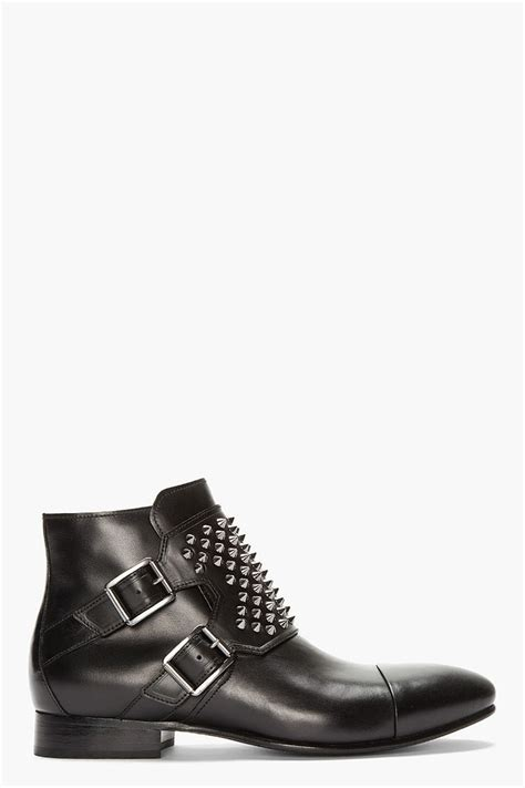 best black boots mens the best s shoes and footwear balmain black