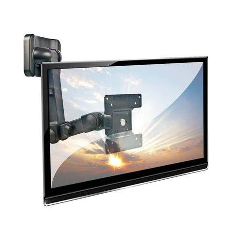 Bracket Tv Ledlcdplasma lcd led multi joint cantilever tv wall bracket mount for up to 10kg 19 quot screens black