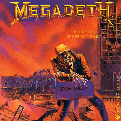 best megadeth album megadeth peace sells but whos buying animated covers