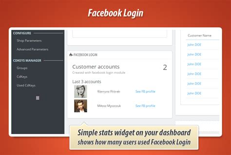 themes for facebook login page module facebook login connect for prestashop 1 7 1 6