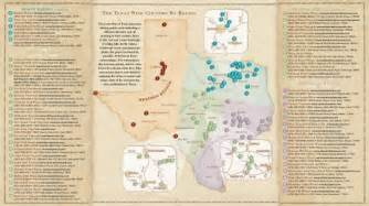 hill country wine trail map wine country map mappery