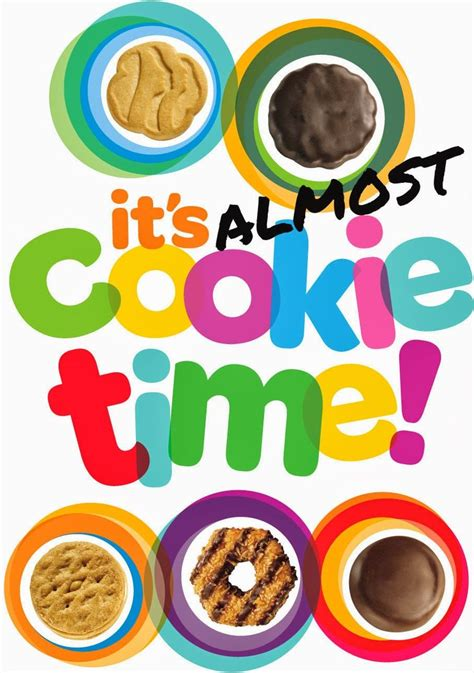 Girl Scout Cookie Flyer Template 2014 15 best scout cookies images on gs
