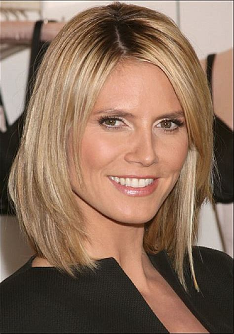 creative parts for shoulder no bangs length hair cute neck length medium bob with hairstyles long side