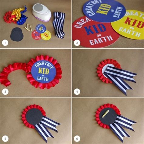 How To Make A Paper Badge - circus badges julep