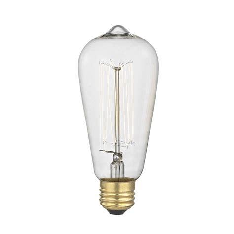 vintage edison light bulbs vintage edison squirrel cage light 60 watts