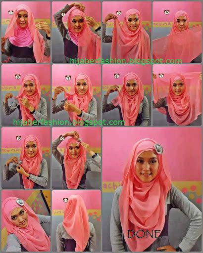 tutorial jilbab 2 jilbab tutorial jilbab paris nan modis brekelesix s blog
