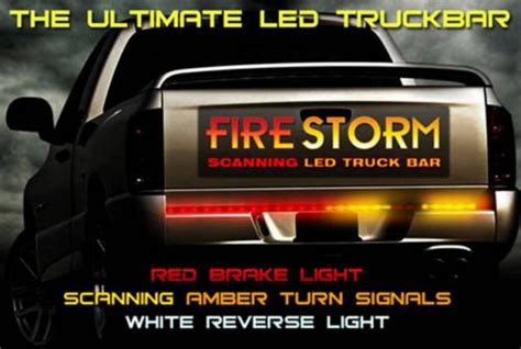 Firestorm Scanning Led Tailgate Light Bar Scanning Led Tailgate Light Bar