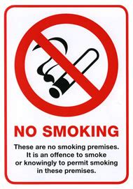 no smoking signage requirements scotland no smoking signs designated smoking area label suppliers